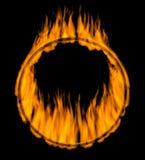 brandcirkel Arkivbilder