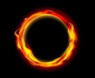 Brandcirkel Arkivbild