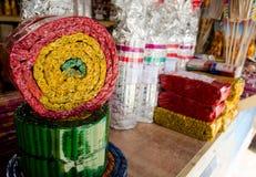 Brandcrackers voor Nieuwjaar Royalty-vrije Stock Foto's
