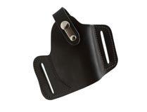 bärande holsterpistol Fotografering för Bildbyråer