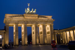 Brandeburg gate Berlin Royalty Free Stock Image