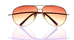 Branded aviators. Isolated over white background Stock Photos