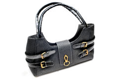 Branded leather purse Stock Photos
