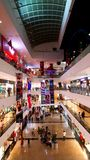 Branded shops in a Shopping Malls in Mumbai Royalty Free Stock Photography