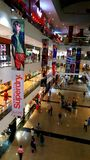 Branded shops in a Shopping Malls in Mumbai Royalty Free Stock Images