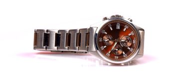 Branded wrist watch Stock Images
