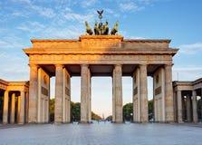 Brandemburgo em Berlim, capital de Alemanha Imagens de Stock Royalty Free