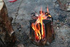 Branden Fotografering för Bildbyråer