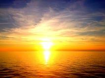Branden av solnedgången Royaltyfria Foton