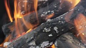 Branden bränner lager videofilmer