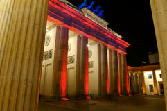 Brandenberg Gate Berlin Royalty Free Stock Photos