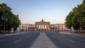 Brandenbruger Tor Berlin Royalty Free Stock Photo