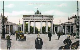 brandenburg brama fotografia royalty free
