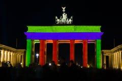Brandenburg Brama Obrazy Stock