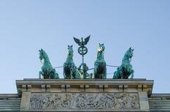 Brandenburg brama Obraz Stock