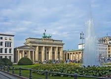 Brandenburg brama symbol Berlin Fotografia Royalty Free