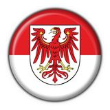 Brandenburg button flag round shape Stock Photography