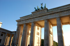 Brandenburg Gate. In Berlin, Germany Stock Image