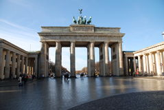 Brandenburg Gate Stock Images