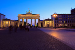 The Brandenburg Gate Royalty Free Stock Photos