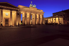 The Brandenburg Gate Royalty Free Stock Image