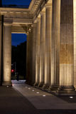 The Brandenburg Gate. At dawn Stock Image