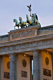 The Brandenburg Gate. Berlin, Germany Stock Photos