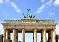 Brandenburg gate. The Brandenburg gate closeup, Berlin stock images