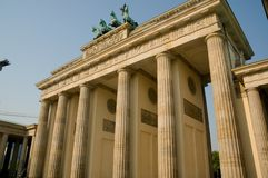 Brandenburg Gate Royalty Free Stock Photos