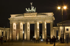 Brandenburg Gate stock image