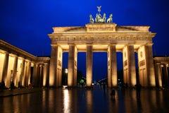 Brandenburg gate. The Brandenburg gate in Berlin Stock Photo