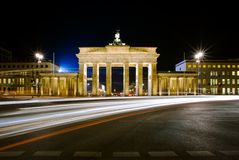 Brandenburg Gate in berlin Stock Photography