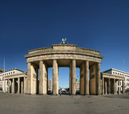 Brandenburg Gate in Berlin Stock Image