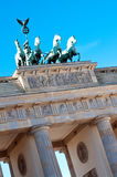 Brandenburg gate Berlin. Brandenburg Gate in Berlin, famous German landmark stock photos