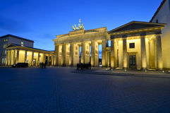 Brandenburg gate berlin Stock Image