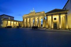 Brandenburg Gate Berlin Stock Image