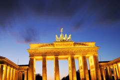 Brandenburg Gate, Berlin Royalty Free Stock Photos