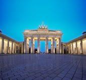 Brandenburg Gate, Berlin. Germany at dawn royalty free stock images