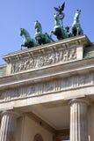 The Brandenburg Gate in Berlin Stock Photography