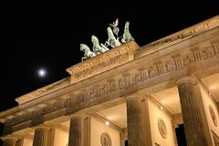 Brandenburg Gate, Berlin Stock Photography