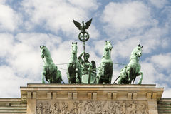 Brandenburg Gate - Berlin Royalty Free Stock Photos