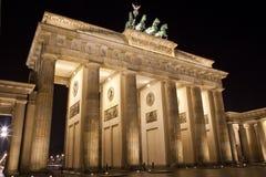 Brandenburg Gate in Berlin Stock Images
