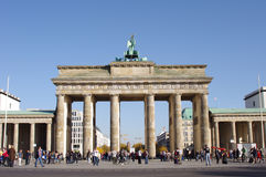 Brandenburg Gate in Berlin. Germany stock image