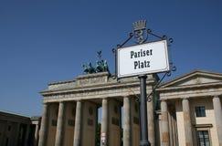 Brandenburg Gate Berlin Stock Photo