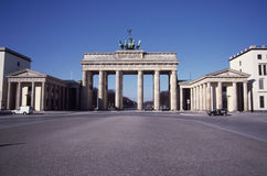 Brandenburg Gate, Berlin Stock Image