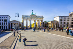Brandenburg gate, berlin Royalty Free Stock Image