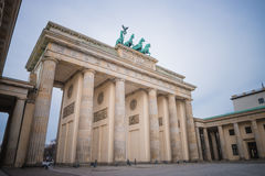 Brandenburg gate, Berlin Royalty Free Stock Photos