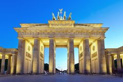 Brandenburg Gate - Berlin - Germany. Brandenburg gate of Berlin city, Germany stock images