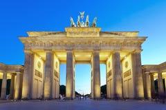 Brandenburg Gate, Berlin Germany Stock Images
