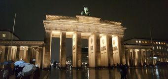 Brandenburg Gate Berlin December 2016. Brandenburg Gate Berlin Germany December 2016 stock photography